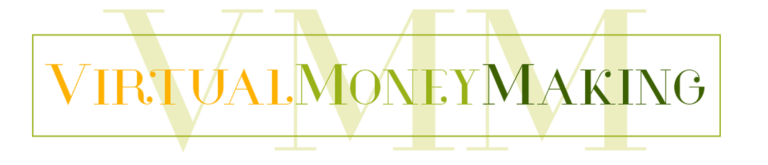 virtual money making logo
